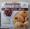 galletas integrales con chispas de chocolate - Producto
