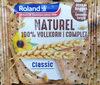 Biscotte naturel 100% blé complet - Produit