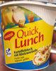 Quick Lunch Purée aux oignons grillés - Prodotto