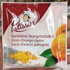 Zestes d'oranges rapés - Produit