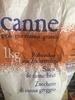 Canne - sucre de canne brut - Prodotto