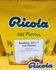 Bonbons suisses aux plantes - Product