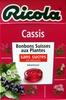 Cassis Bonbons suisses aux plantes - Produit
