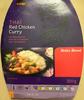 Thaï Red Chicken Curry avec du riz basmati - Product