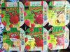 JaMaDu Yogourt fraise framboise banane - Product