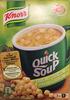Quick Soup pois avec croûtons - Prodotto