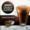 Dolce gusto - Chococino - Chocolat en poudre et lait entier en poudre avec sucre - Produkt