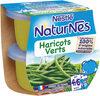 NESTLE NATURNES Petits Pots Bébé Haricots Verts -2x130g -Dès 4/6 mois - Producto