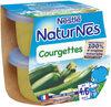 NESTLE NATURNES Petits Pots Bébé Courgettes -2x130g -Dès 4/6 mois - Produit