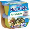 NESTLE NATURNES Petits Pots Bébé Artichauts -2x130g -Dès 4/6 mois - Product