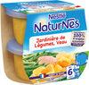 NESTLE NATURNES Petits Pots Bébé Jardinière de légumes Veau -2x200g -Dès 6 mois - Producto