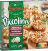 BUITONI PICCOLINIS mini-pizzas surgelées CREMOSA AL PROSCIUTTO - Lardons Crème 270g (9 pièces) - Produit