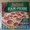 Four à pierre - Chorizo Fromages Oignons - Product
