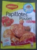 Papillotes Poulet Paprika et Tomate - Product