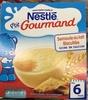 P'tit Gourmand Semoule au lait biscuitée - Produit