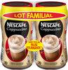 NESCAFE Cappuccino, Café Soluble, 2 Boîtes de 280g - Produit