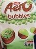 Nestle aero, bubbles chocolate - Product