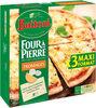 BUITONI FOUR A PIERRE pizza surgelée Fromages 3 packs x 350g (x3 maxi format) - Produit