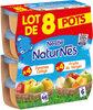 NESTLE NATURNES Compotes Bébé Fruits du Verger + Pommes Coings 8x130g - Product