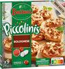 BUITONI PICCOLINIS mini-pizzas surgelées Bolognese 9x30g ( - Produit