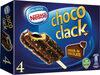 Bombón helado de vainilla con chocolate almendrado - Producte