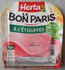 Le Bon Paris, À l'Étouffée (4 Tranches) - Product