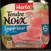 Tendre Noix, Supérieur (- 25 % de Sel) 6 Tranches - Product