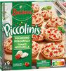 BUITONI PICCOLINIS mini-pizzas surgelées Tomate Mozzarella 9x30g ( - Product