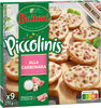 BUITONI PICCOLINIS mini-pizzas surgelées Alla Carbonara 9x30g ( - Produit