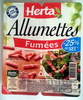 Allumettes, Fumées (- 25 % de Sel) - Product