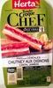 Tendre Croque Chef - Pain aux céréales hutney aux oignons cantal jambon - Product