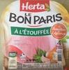 Le Bon Paris, à l'étouffée au Bouillon de Légumes - Product