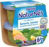 NESTLE NATURNES Les Sélections Petits Pots Bébé Epinards, Saumon aux petites pommes de terres -2x200g -Dès 8 mois - Product