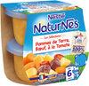 NESTLE NATURNES Les Sélections Petits Pots Bébé Pommes de terre, Bœuf à la tomate -2x200g -Dès 6 mois - Produkt