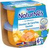 NESTLE NATURNES Les Sélections Petits Pots Bébé Douceur de carottes, Saumon -2x200g -Dès 6 mois - Produkt