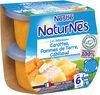 NESTLE NATURNES Les Sélections Petits Pots Bébé Carottes, Pommes de terre, Cabillaud -2x200g -Dès 6 mois - Producto