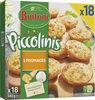 BUITONI PICCOLINIS mini-pizzas surgelées 3 Fromages 18x30g ( - Product