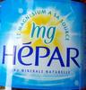 Hépar - Prodotto