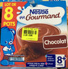 P'tit Gourmand chocolat (lot de 8 pots) - Produit