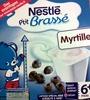 P'tit brassé - Laitage spécial bébé Myrtille - Produit