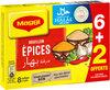 MAGGI Bouillon aux Epices Halal 6+2 tablettes - Product