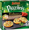 BUITONI PICCOLINIS TENTAZIONE mini-pizzas surgelées Duo de Champignons 270g (9 pièces) - Produit