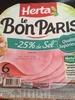 Le Bon Paris (-25% de sel) - Produit