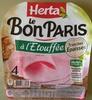 Le Bon Paris Tranches épaisses - Product
