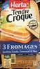 Tendre Croque 3 Fromages - Prodotto