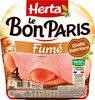 LE BON PARIS Jambon blanc fumé - Product