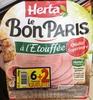 Le Bon Paris à l'Étouffée (6+2 gratuites) - Produit