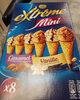 Mini cônes caramel & vanille - Product
