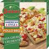 Pollo bbq pizza tradicional italiana al puro - Produit