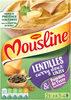 MOUSLINE Purée lentilles, curry doux et pommes de terre - 2 sachets de 3/4 personnes - Product